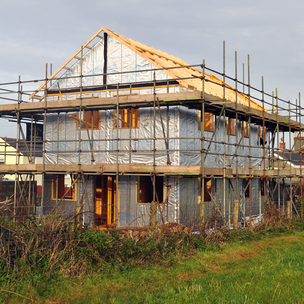 Chy an Goff Timber Frame