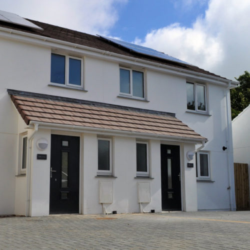 The Wink and The Sandpit - 2 semi-detached, modern, 2-story houses in St Erth, Cornwall